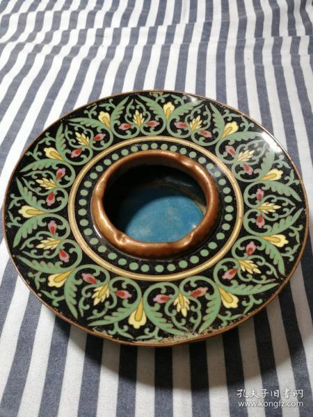 Beijing Hotel Ashtray ~ The First Cloisonne Ashtray