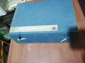 1 set of old letters in threaded books in the Qing Dynasty, 28X18X8CM