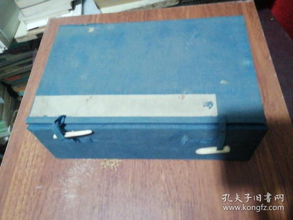 1 set of old letter-bound books in the Qing Dynasty, 25X15.5X8CM