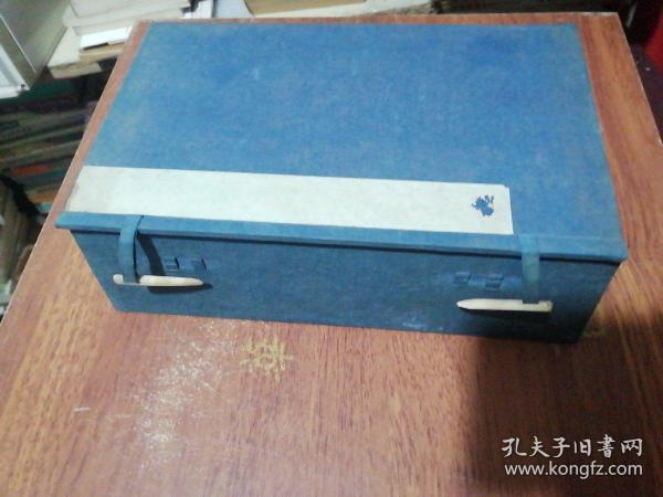 1 set of old letter-bound books in the Qing Dynasty, 25X15.5X7CM
