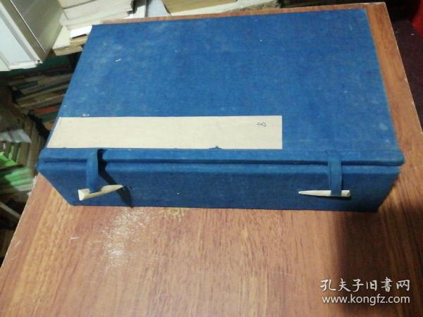 1 set of old letters in threaded books in Qing Dynasty, 29X18X7CM