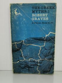 古希腊神话 The Greek Myths Volume One by Robert Graves (古希腊研究)英文原版书