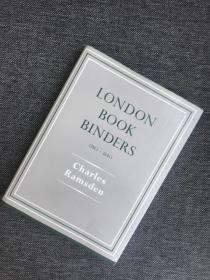 现货 London Bookbinders, 1780-1840 Reprint Edition