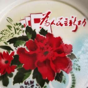 Rare theme tea trays during the Cultural Revolution