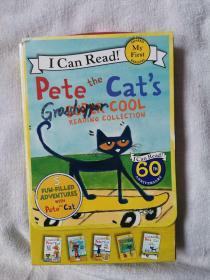 Pete the Cats Super Cool Reading Collection (My First I Can Read)皮特猫的超级阅读 1-4
