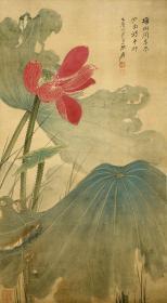 Zhang Daqian-Lotus Picture-HD Micro Spray Replica