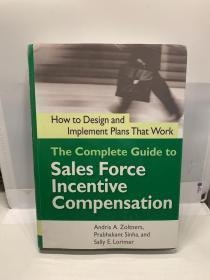 The Complete Guide to Sales Force Incentive Compensation 外文原版 现货