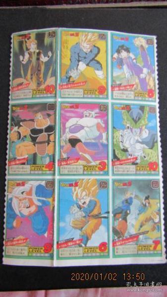 "90's classic anime ""Dragon Ball"" sticker"