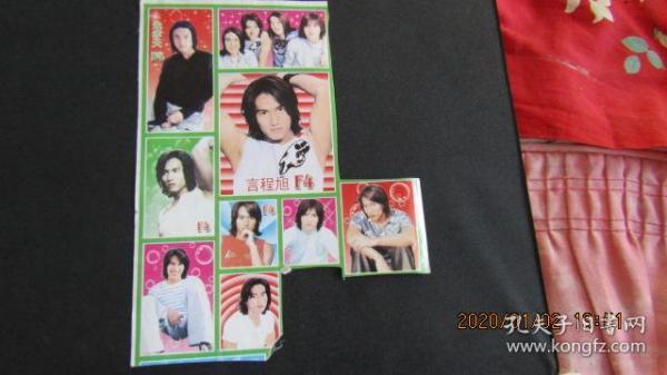 Yan Chengxu F4 Sticker Incomplete