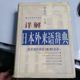 詳解日本外來語辭典