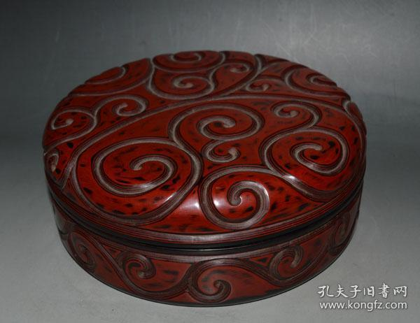 Qing lacquer lacquer lacquer box