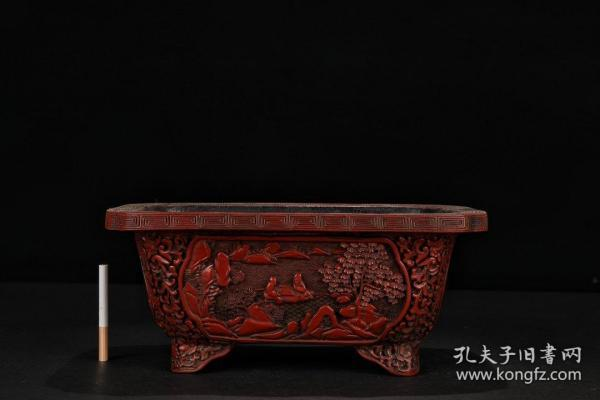 "Qing Dynasty: [Tick Red ""Character Story"" Brush Wash]"