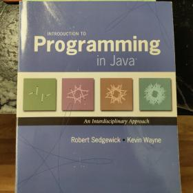 Introduction to Programming in Java:An Interdisciplinary Approach