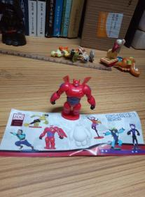 Big Hero 6 Chez Toy Egg Big White Robot Assembled Toy