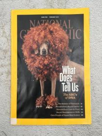 NATIONAL GEOGRAPHIC FEBRUARY 2012 WHAT DOGS TELL US