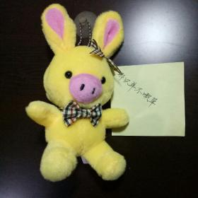 Pig pig rabbit doll