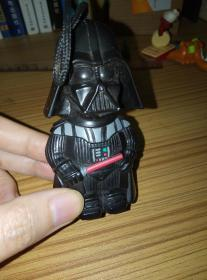 Star Wars McDonald's Toys 2008 Black Samurai Toys Inside Hollow Can Hold Small Objects