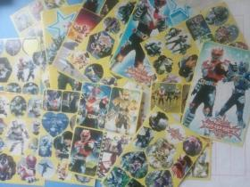 Armored Warrior Stickers 13 `` Classic Childhood Memory Yellow Stickers 50 Size ''.