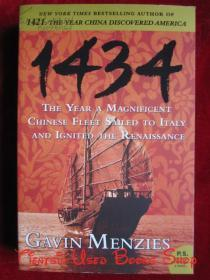 1434: The Year a Magnificent Chinese Fleet Sailed to Italy and Ignited the Renaissance(英语原版 平装本)1434:一支庞大的中国舰队抵达意大利并点燃文艺复兴之火