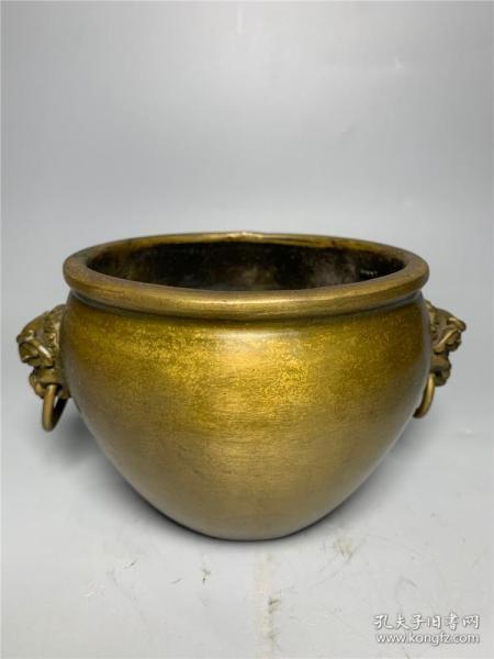Brass animal ear incense burner 2
