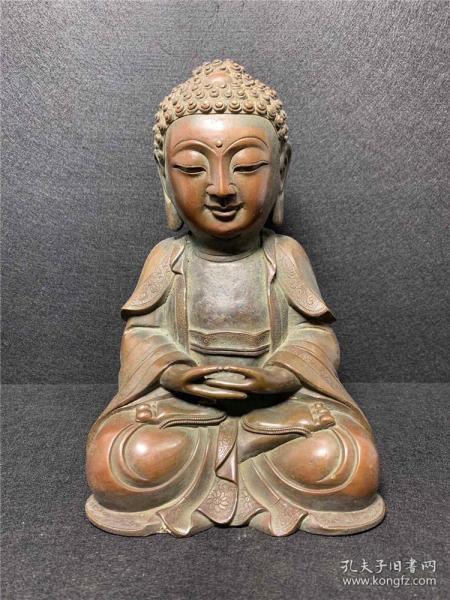 Copper Buddha Decoration