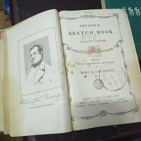 IRVING`S  SKETCH  BOOK《详见图片》