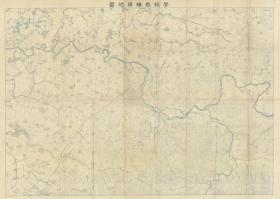 "(1938) ""Liaoyang Old Map"" (Liaoyang City Map, Liaoyang City Map, Liaoyang City Old Map) has a scale of 50,000ths, with a huge opening of 80X110CM, and is drawn in great detail. Villages, roads, railways, temples, rivers, mountains, etc. altitude. The Japanese army used it as a training map, which is very detailed. It is an important historical source of the historical changes of geographical names in Liaoyang. Original HD copy."