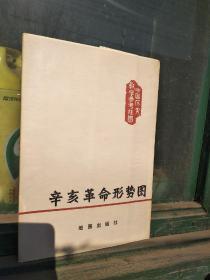 Xinhai revolution situation map.