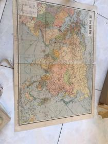1965 Map of Asia