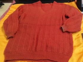 A cold-proof and warm woolen sweater in the cold area in autumn and winter or the high-altitude area. The brand-new one is as shown in the picture, and the actual items in the picture shall prevail.
