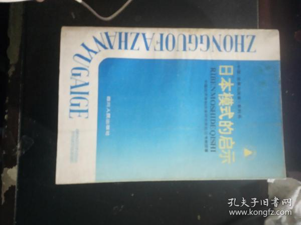 Lessons from the Japanese Model (China: Development and Reform Series)