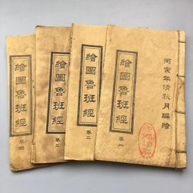 Drawing Luban Sutra (4 books 48 photos)