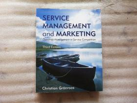 Service Management And Marketing 【小16开】有划线