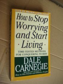 How to stop worrying and start living 英文原版正品