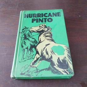HURRICANE PINTO: THE STORY OF AN OUTLAW HORSE(硬精装,1935年版,1949年印)