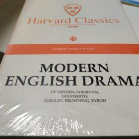Harvard classics  (18)modern english drama