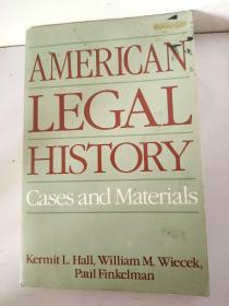 AMERICAN LEGAL HISORY