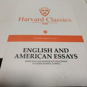Harvard classics(28)ENGLISH AND AMERICAN ESSARYS FROM WILLIAM MAKEPEACE THACKERAY TO JAMES RUSSELL LOWELL