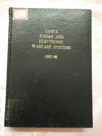 JANE'S RADAR AND ELECTRONIC WARFARE SYSTEMS 1997~98(馆藏书)大16开精装