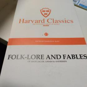 harvard classics  folk-lore and fables