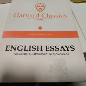 Harvard classics(27)english essays