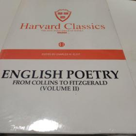 Harvard classics(41)ENGLISH POETRY FROM COLLINS TO FITZGERALD(VOLUME2)