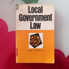 Local Government Law in a Nutshell