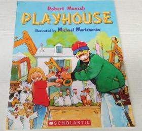 平装 Playhouse 儿童游戏房