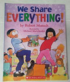 平装 We shareeverything! 我们分享一切!