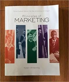 Principles of Marketing Third Custom Edition for the University of Oregon