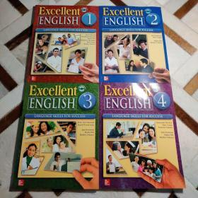 Excellent English Student Book- Language Skills For Success (1-4册,含光盘)