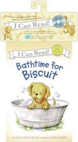 Bathtime for Biscuit (Book + CD) (My First I Can Read)