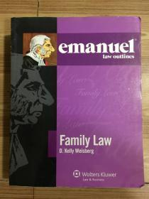 emanuel law outlines: Family Law  Third Edition