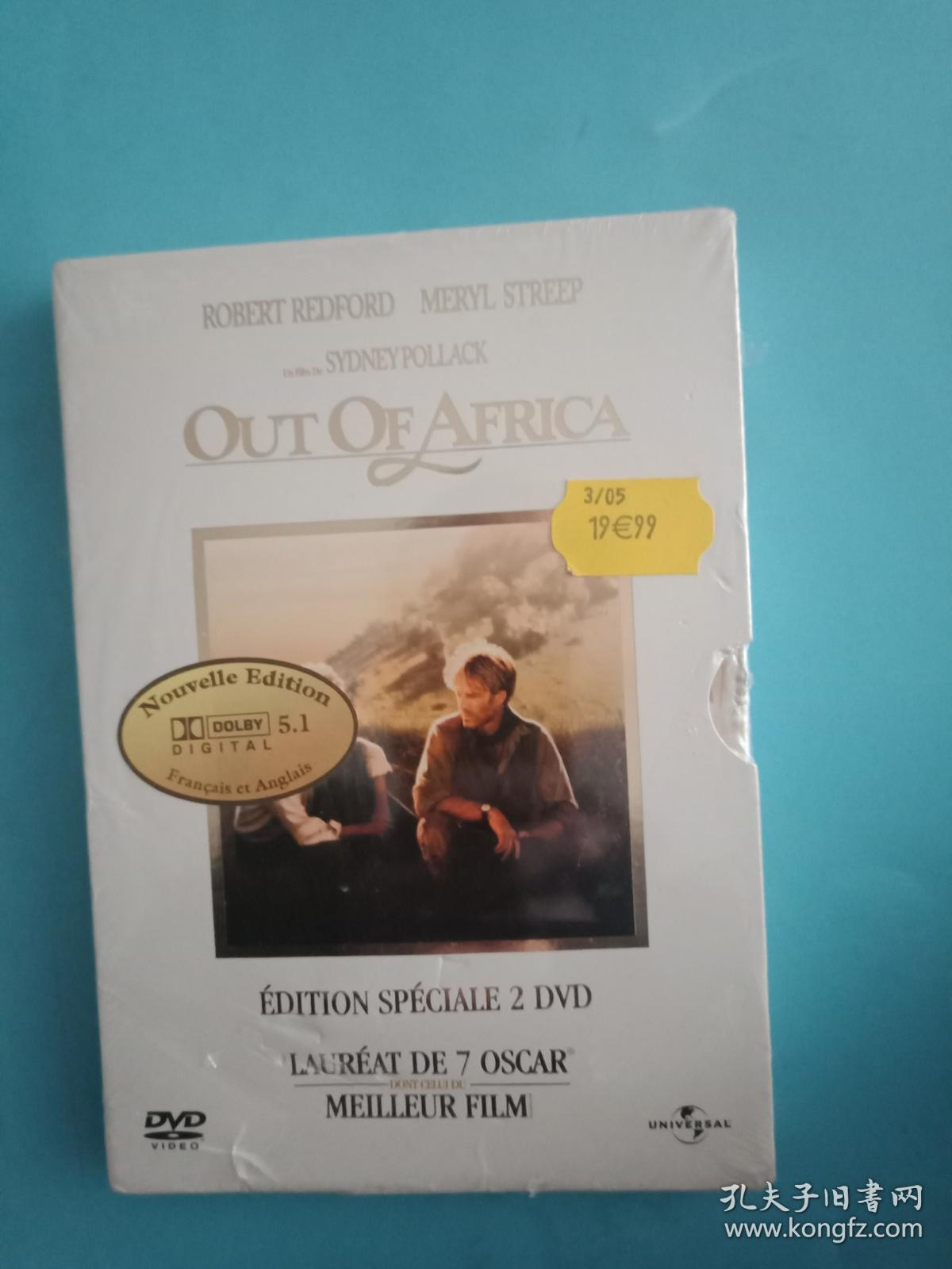OUT OF AFRICA 光盘(全新未拆封  见图)